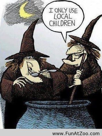 Ordinaire Funny Halloween Witches Comic   Funny Picture