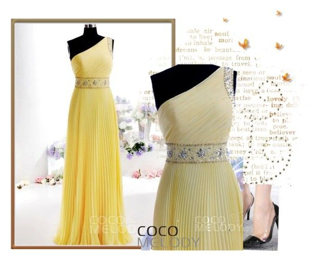 """CocoMelody Bridesmaid dresses No.25"" by cocomelodydress ❤ liked on Polyvore"