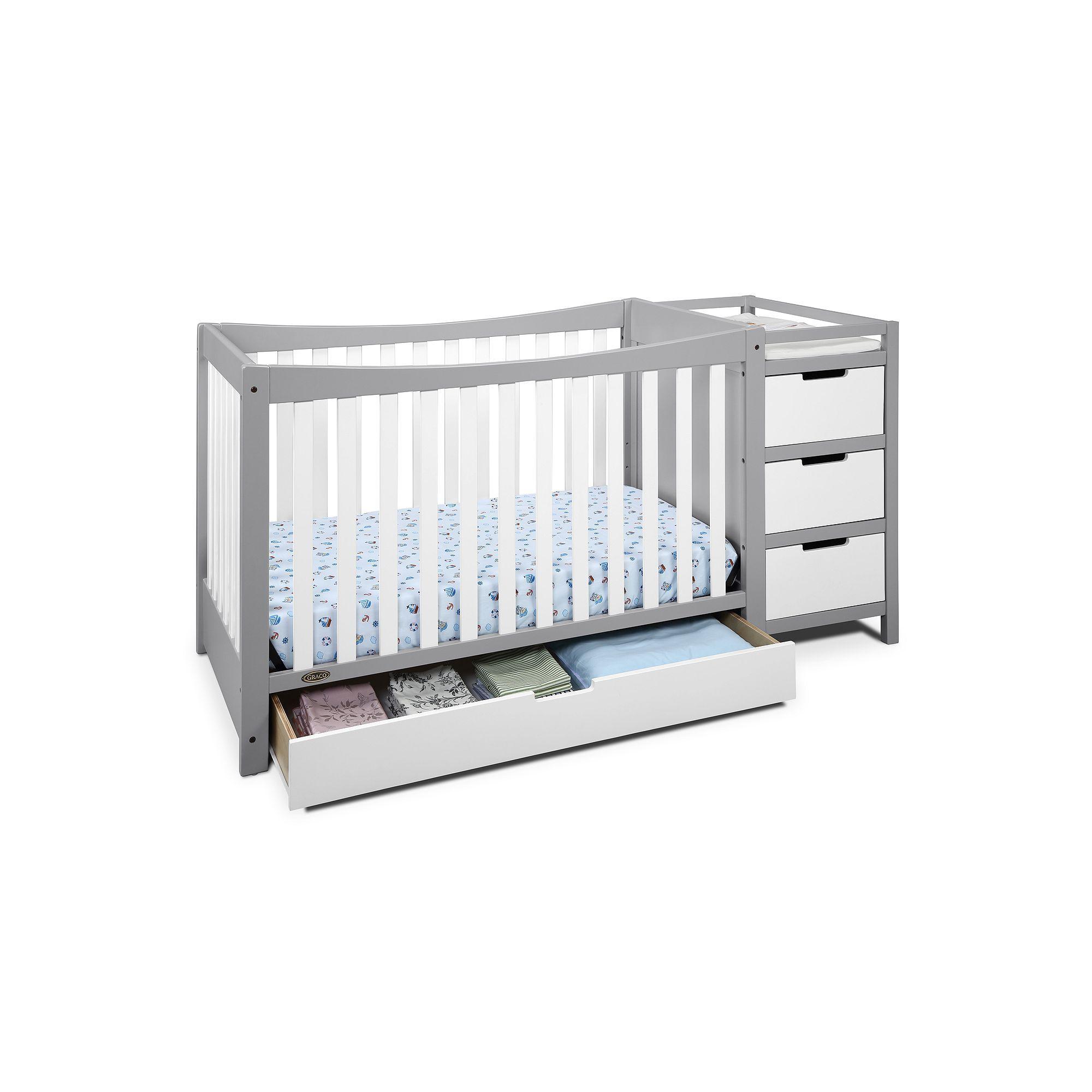 Graco Remi 4 In 1 Convertible Crib Changer White