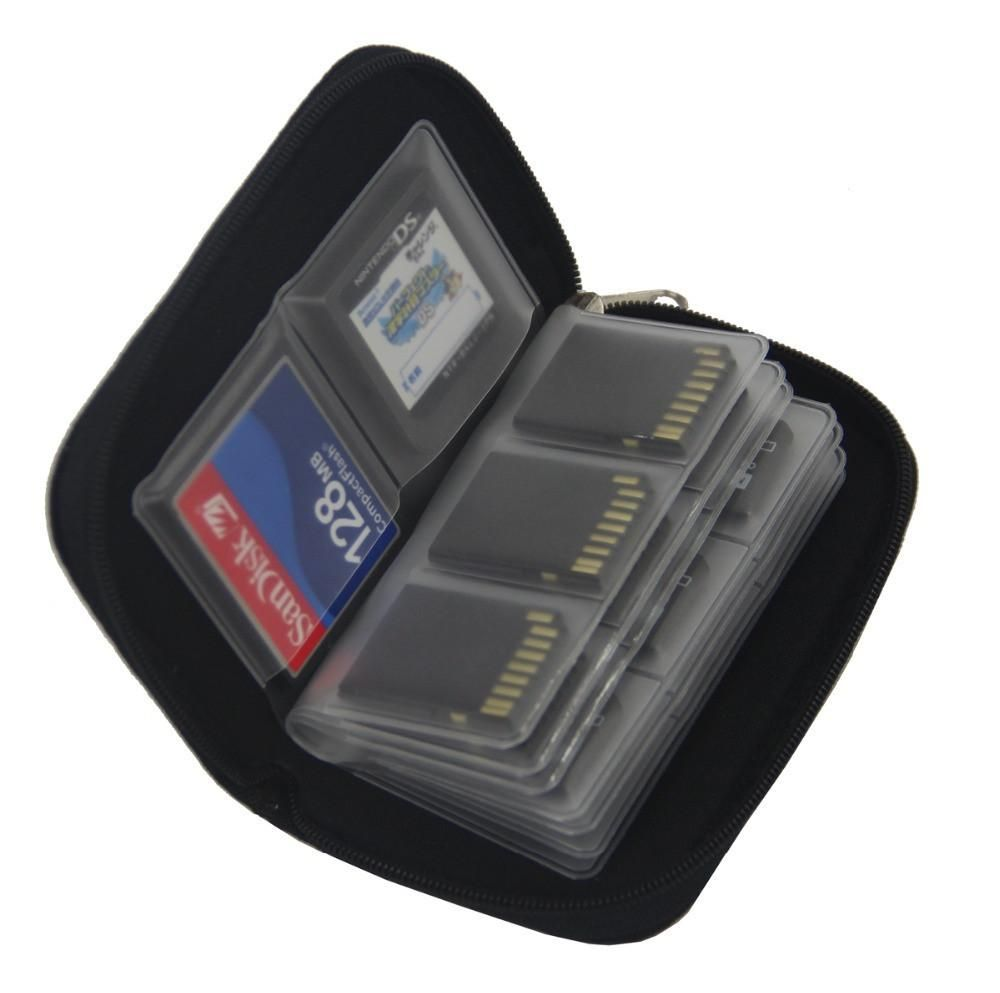 High Quality Colorful Sdhc Mmc Cf For Memory Card Storage Bag Toshiba 8gb Carrying Pouch Box Holder Protector Micro Sd