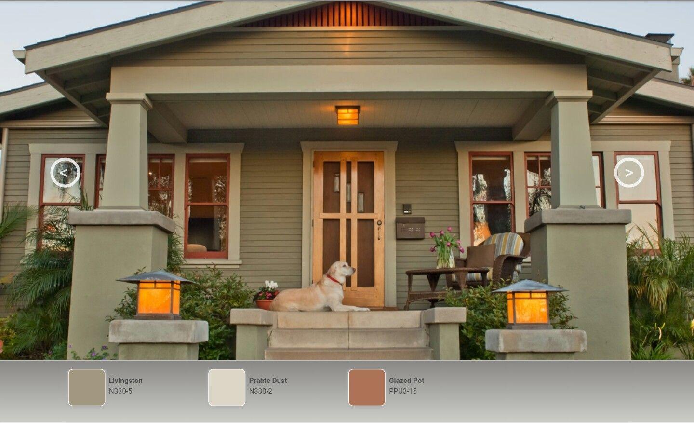 Behr Livingston House Paint Exterior Exterior Paint Colors For