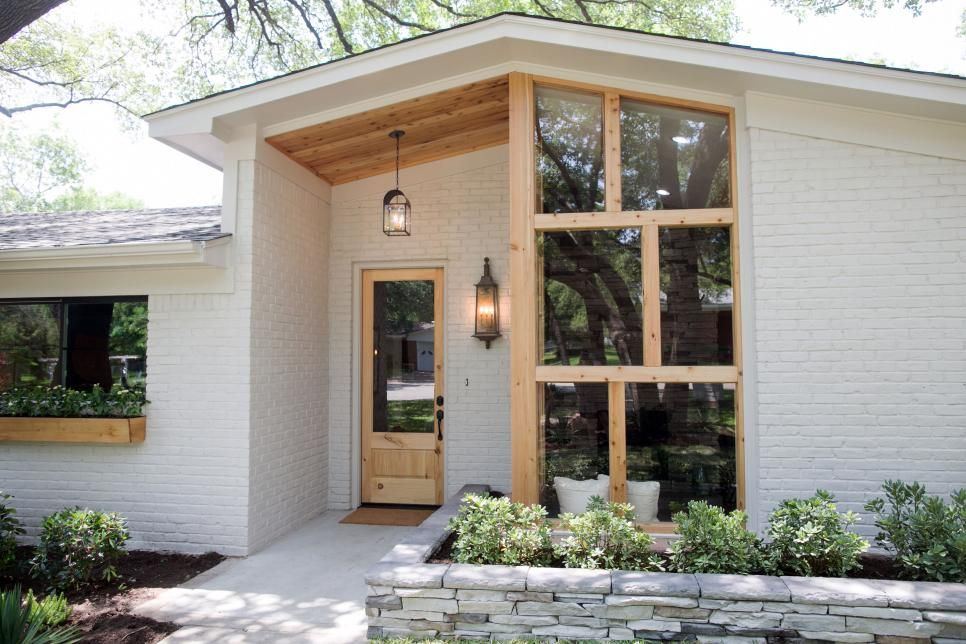 Fixer Upper Midcentury Ranch Gets A New Look With A