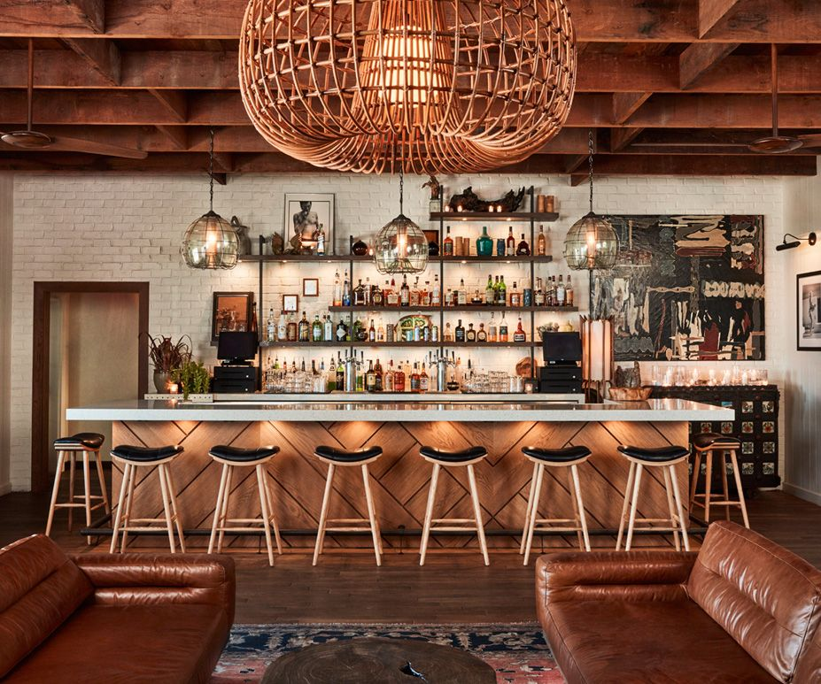 Bungalow Bar And Restaurant: Studio-Collective Is A Boutique Design Agency Located In