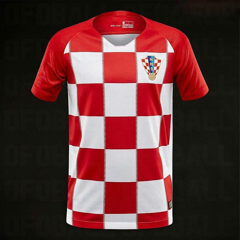 f968e3d3c 2018 Croatia World Cup Home Jersey