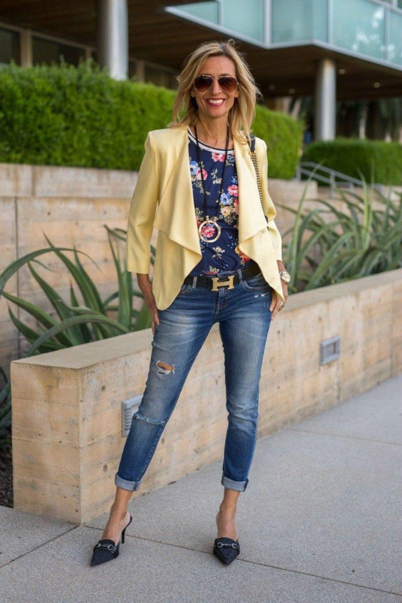 Fashion week Looks stylish for over 50 for lady