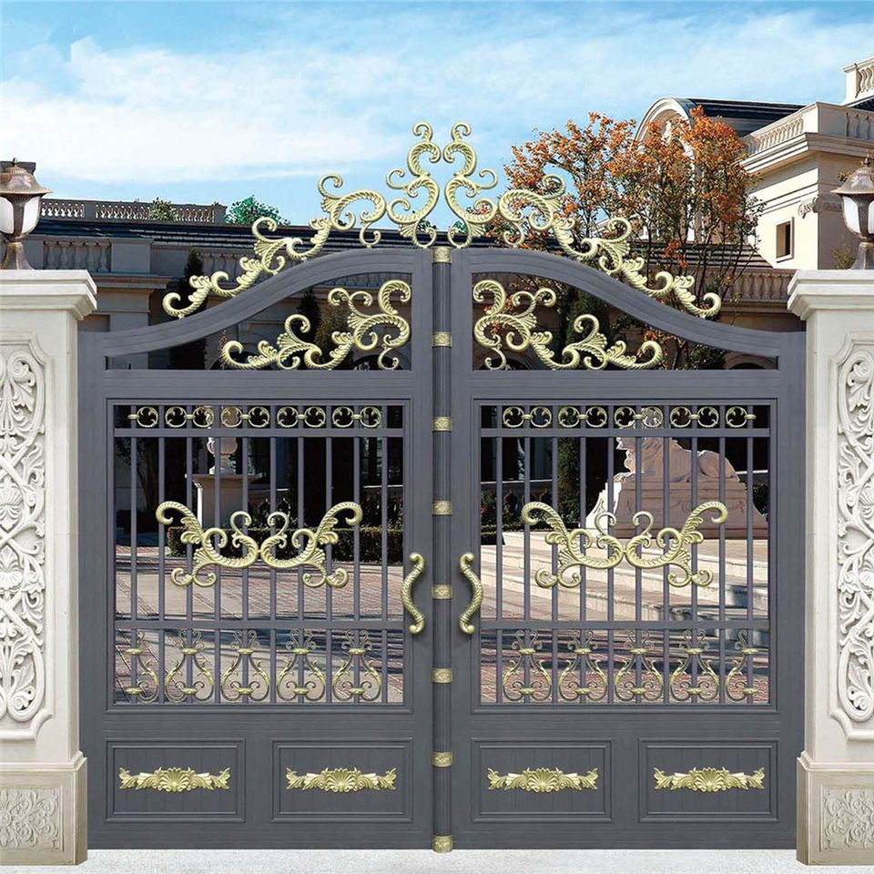 Aluminium Modern Gate Modern Iron Gate Designs Iron