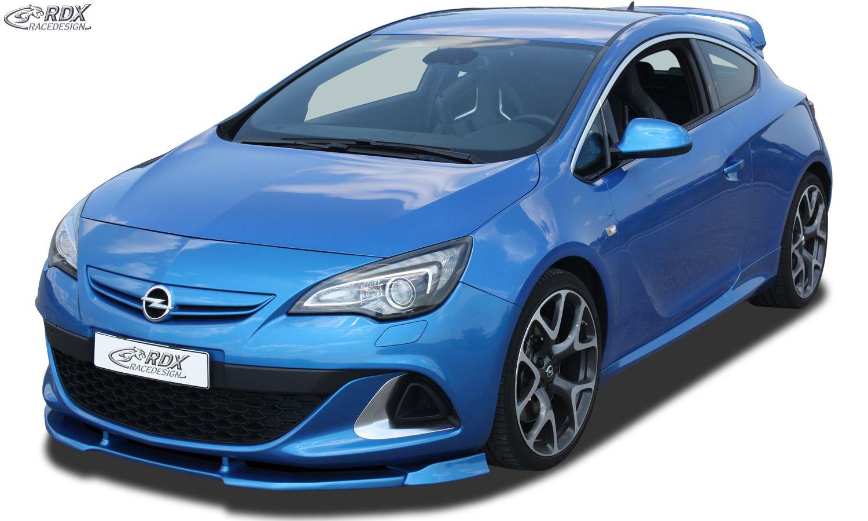 Rdx Front Spoiler Vario X Opel Astra J Opc Präsentiert Von Vctgermany Motorsport