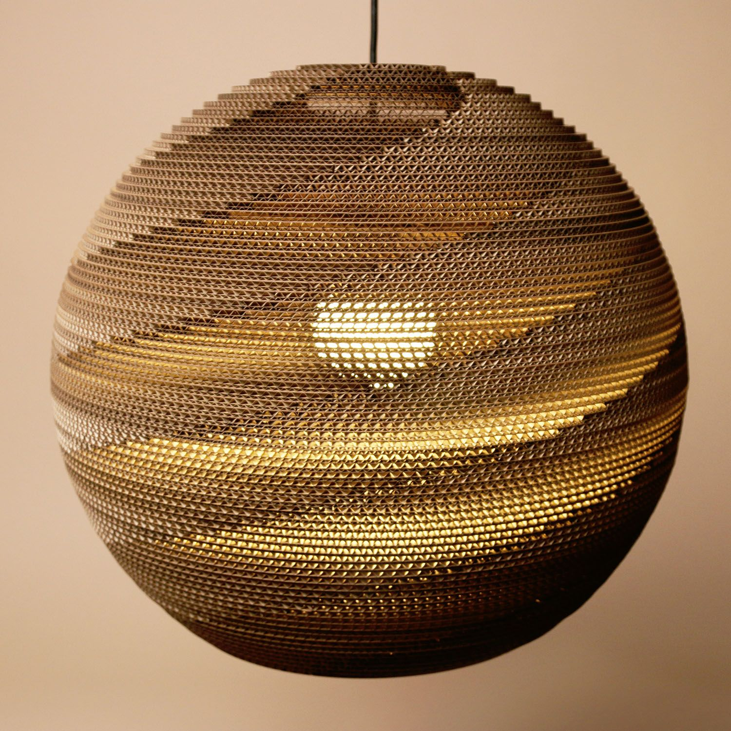 Product Photo - Kartonov St N Tko Cardboard Shade Sphere