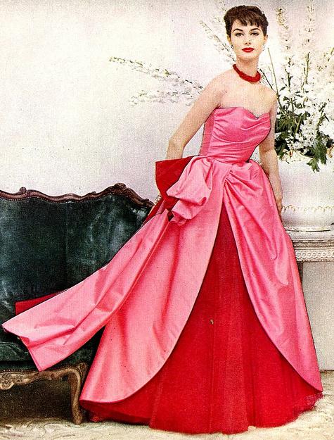 Nancy Berg. Harper's Bazaar, Oct. 1954