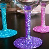 chippendales bachelorette party diy ideas wine glasses autograph