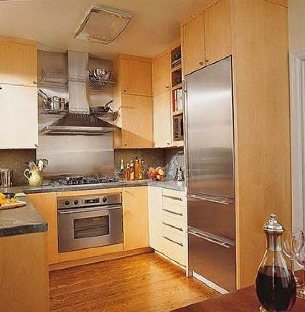 Great Ideas For Luxury Kitchens With Wooden Base Material Hardwood