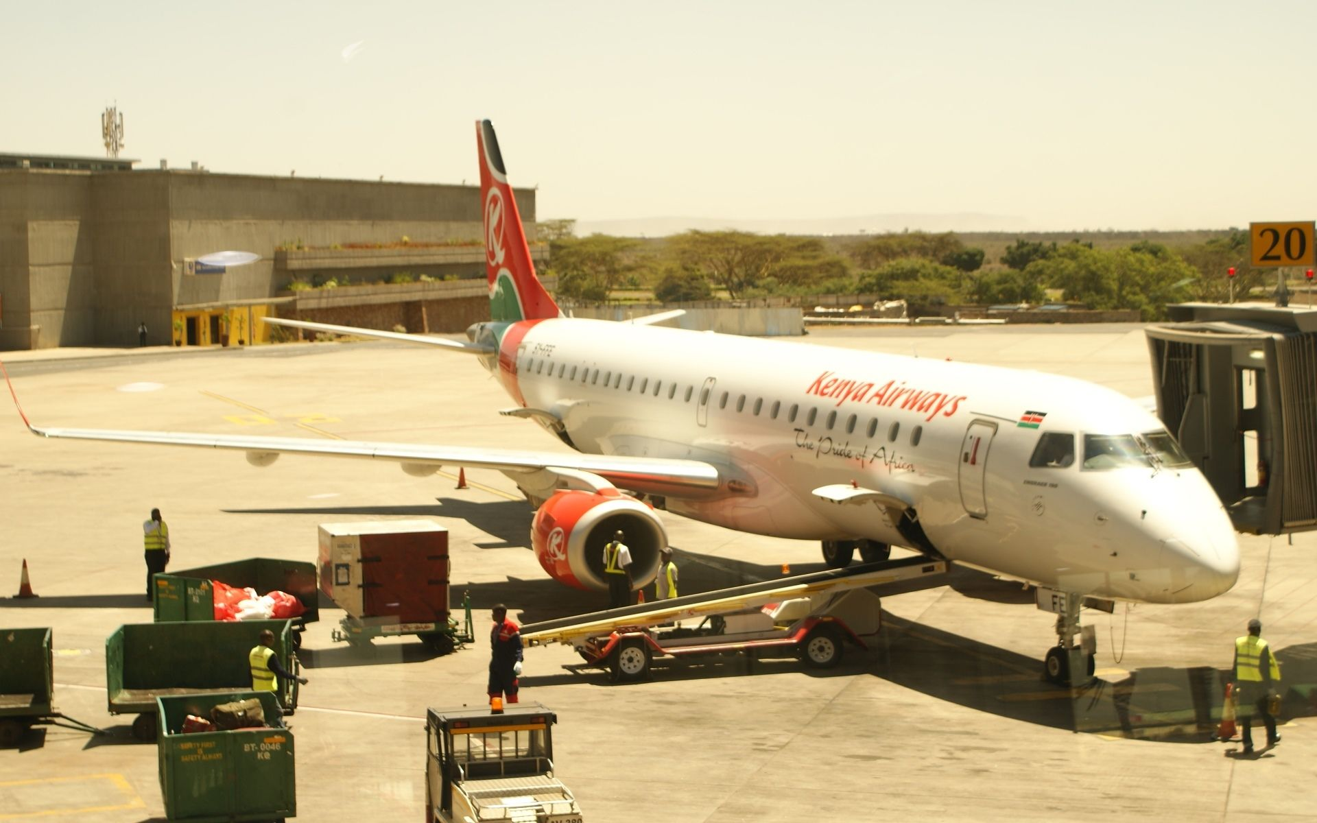 Kenya Airways First International Airline to