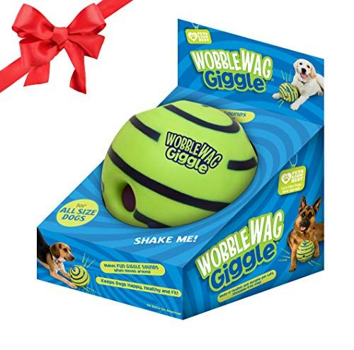 Interactive Dog Toys Wobble Wag Giggle Ball, Interactive Dog Toy, Fun Giggle Sounds, As Seen On TV – Online Shopping USA