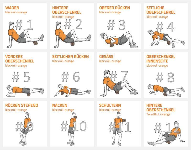 bersicht der blackroll bungen sport pinterest fitness exercise und workout. Black Bedroom Furniture Sets. Home Design Ideas