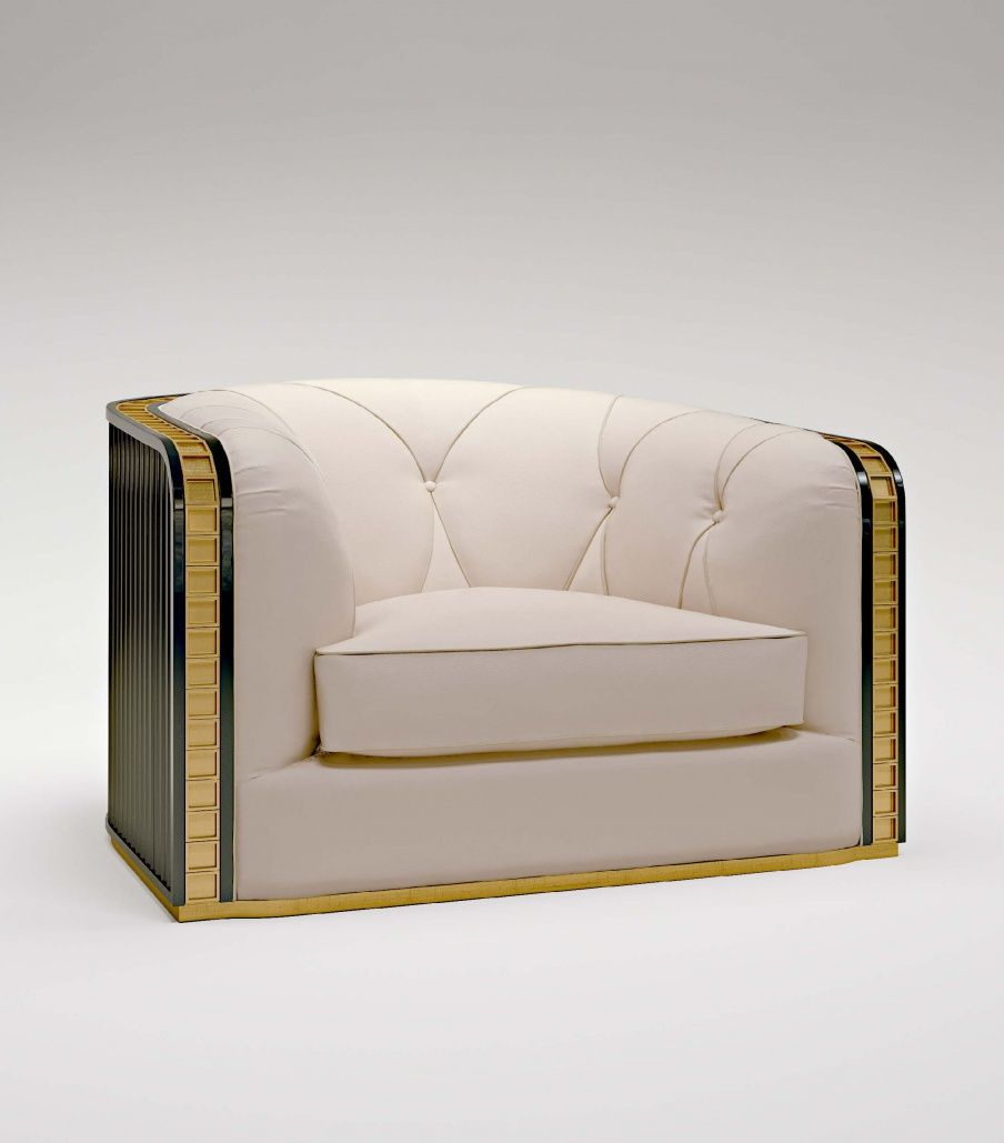 Armchair in fabric Bauhaus, Bruno Zampa Luxury sofa