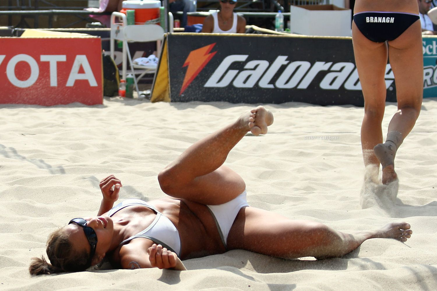 Hottest Beach Volleyball Moments We Could Find