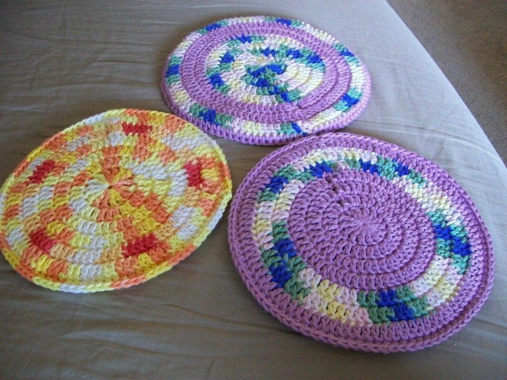 Crochet Potholder Patterns Trendy Square Crochet Pot Holder #crochetpotholderpatterns Crochet Potholder Patterns Pattern Round Potholders Seesawyer #potholders