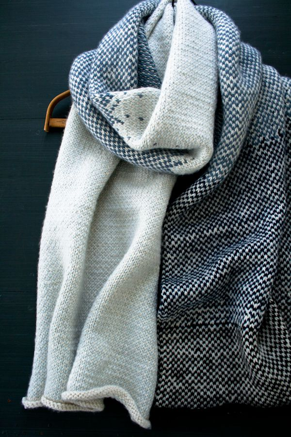 Laura\'s Loop: Arctic Wrap - The Purl Bee - Knitting Crochet Sewing ...