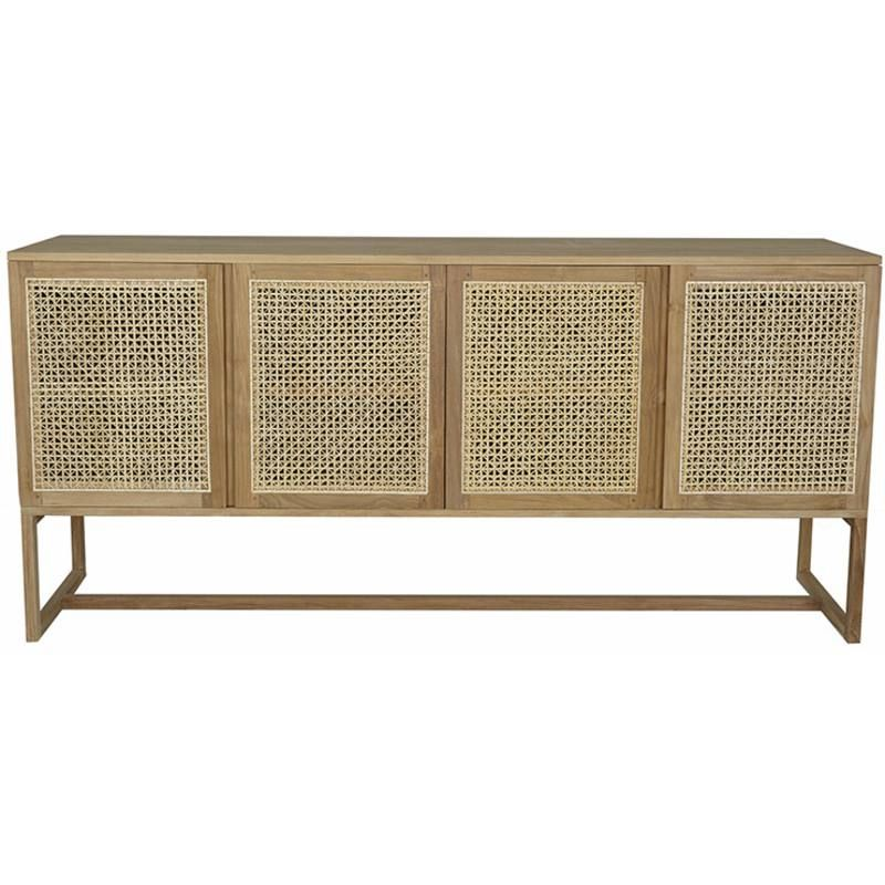 newest ad1a2 4f953 Woven willow buffet / sideboard | Console in 2019 ...