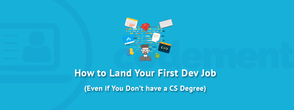 These days more and more people are learning how to code either heres how to better prepare yourself to land that first developer job even if you dont have a computer science degree solutioingenieria Gallery