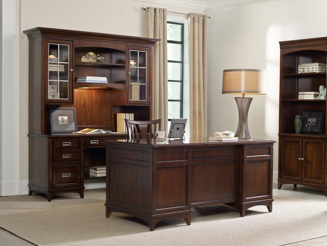 Latitude 5 Drawer Computer Credenza Desk Furniture Trendy Home Home Decor