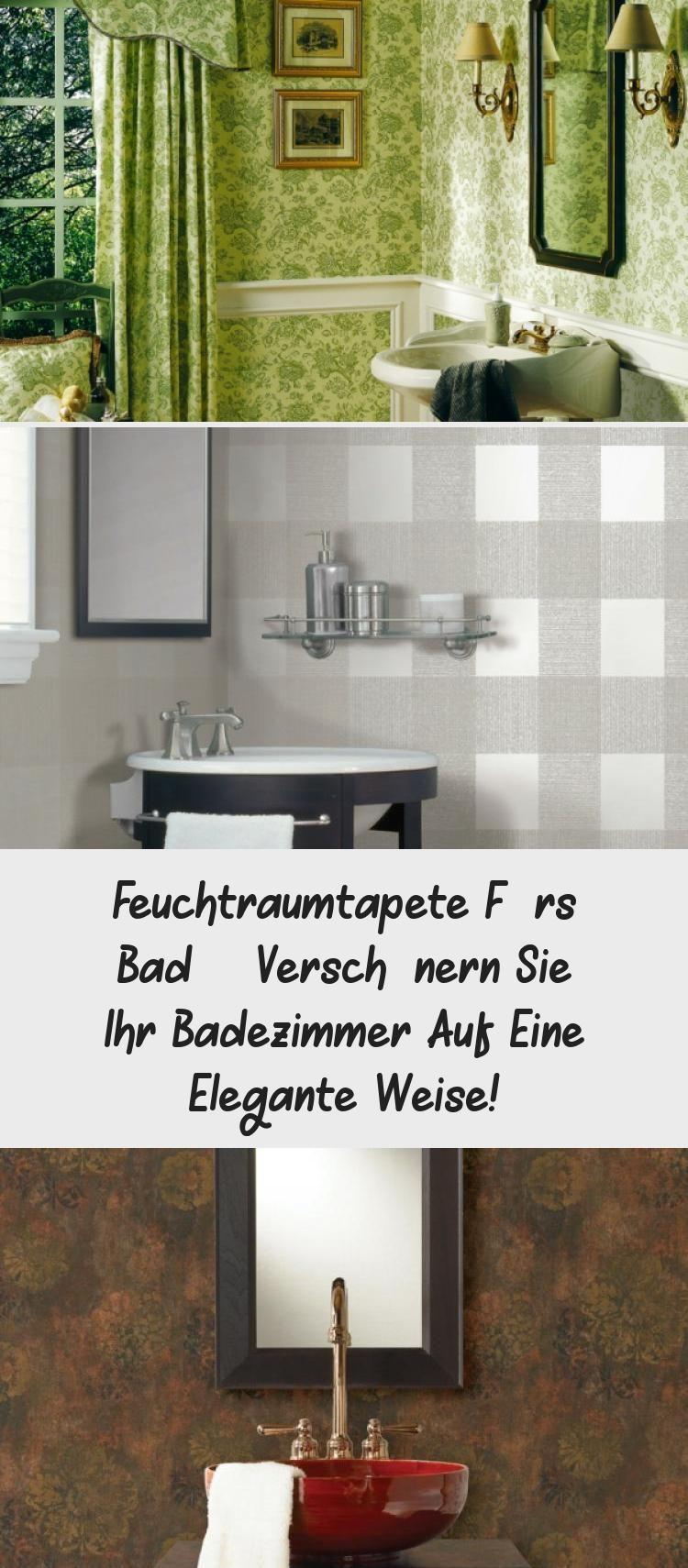 Feuchtraumtapete Furs Bad Verschonern Sie Ihr Badezimmer Auf