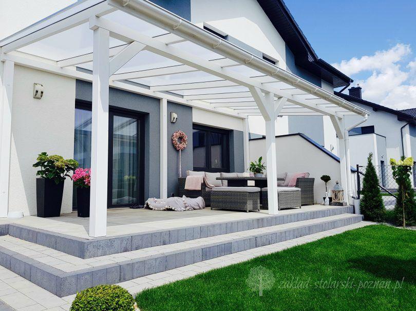Zadaszenia Tarasow Woodbud Zaklad Stolarski Poznan Backyard Patio Patio Design Backyard Patio Designs