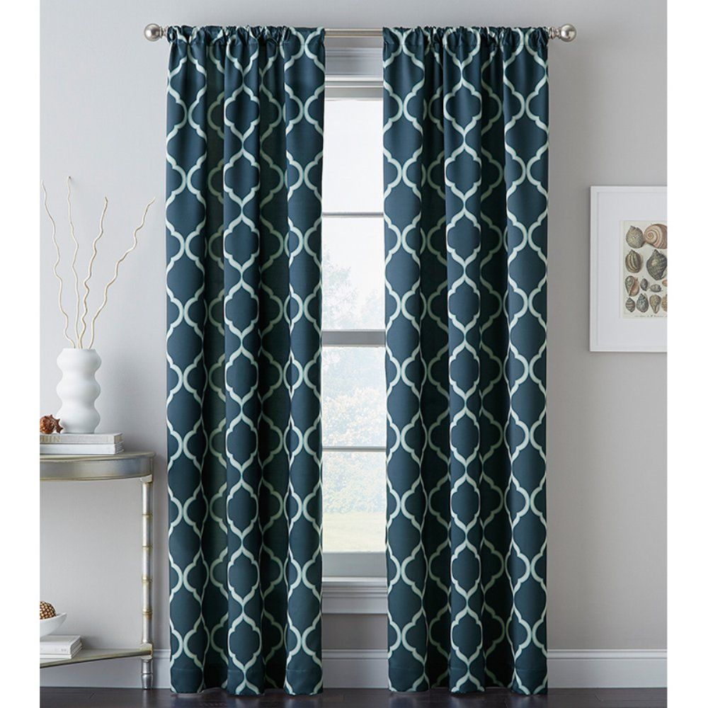 Powersave Cashbah Trellis Curtain Panel