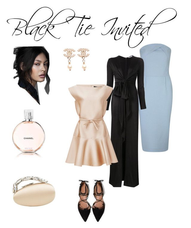 Black Tie Invited by annabaranovskaya on Polyvore featuring мода, Givenchy, Roland Mouret, Paule Ka, Zara, Chanel and dresscode