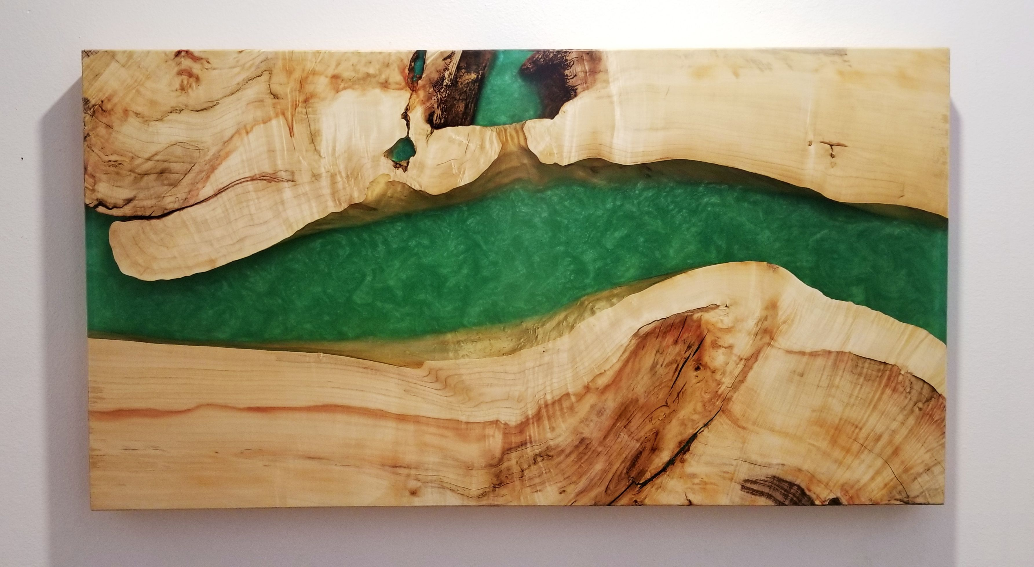 Sold Wood And Epoxy Wall Art Large Live Edge Epoxy River Etsy Resin Wall Art Wooden Wall Hangings Large Wall Art