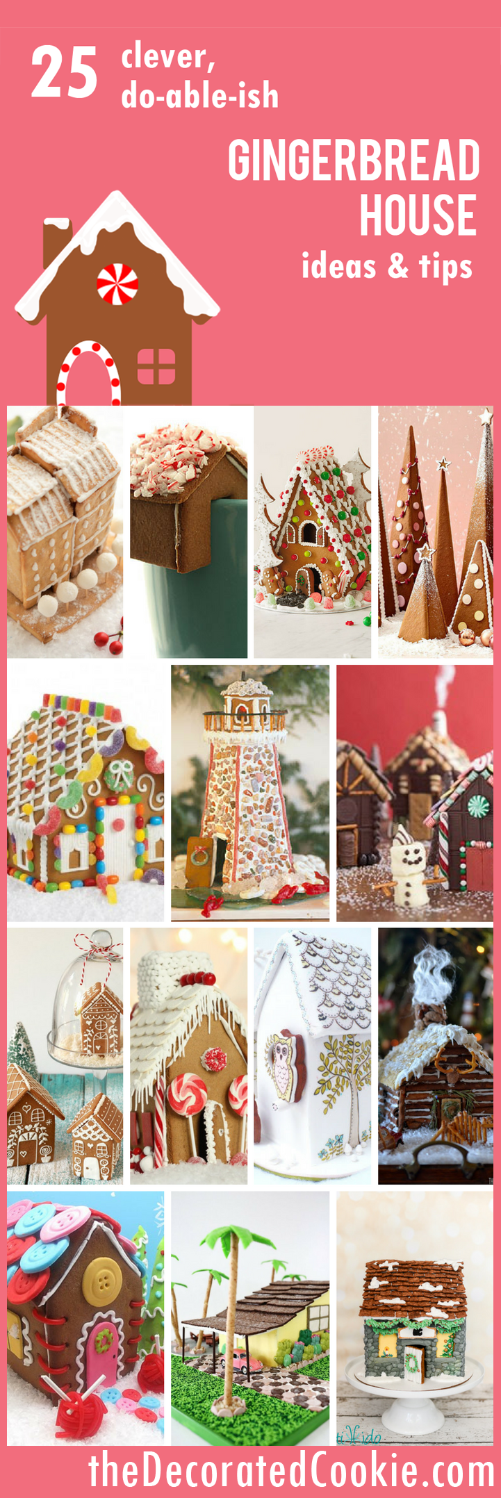 Ideas for a gingerbread house - Gingerbread 25 Gingerbread House Ideas