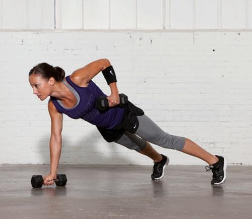 Get Sweaty | Plank with Row