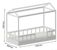 Resultado de imagem para medidas cama montessoriana - Medidas camas infantiles ...