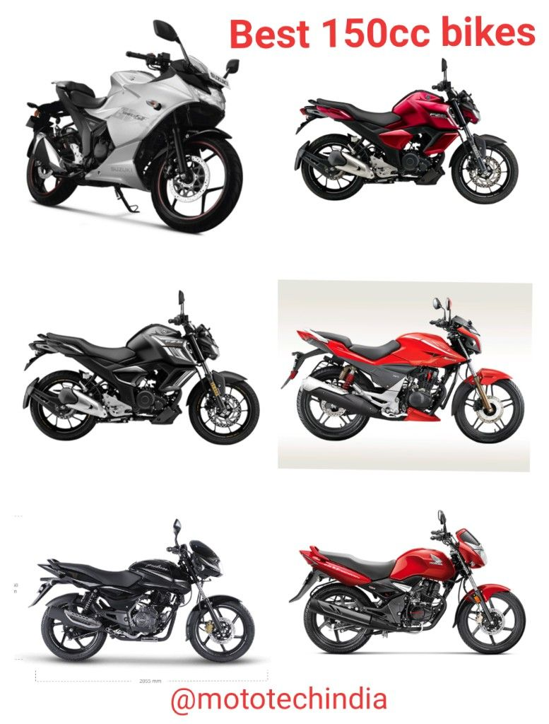 Best 150cc Bikes In India With Great Mileage In 2020 In 2020