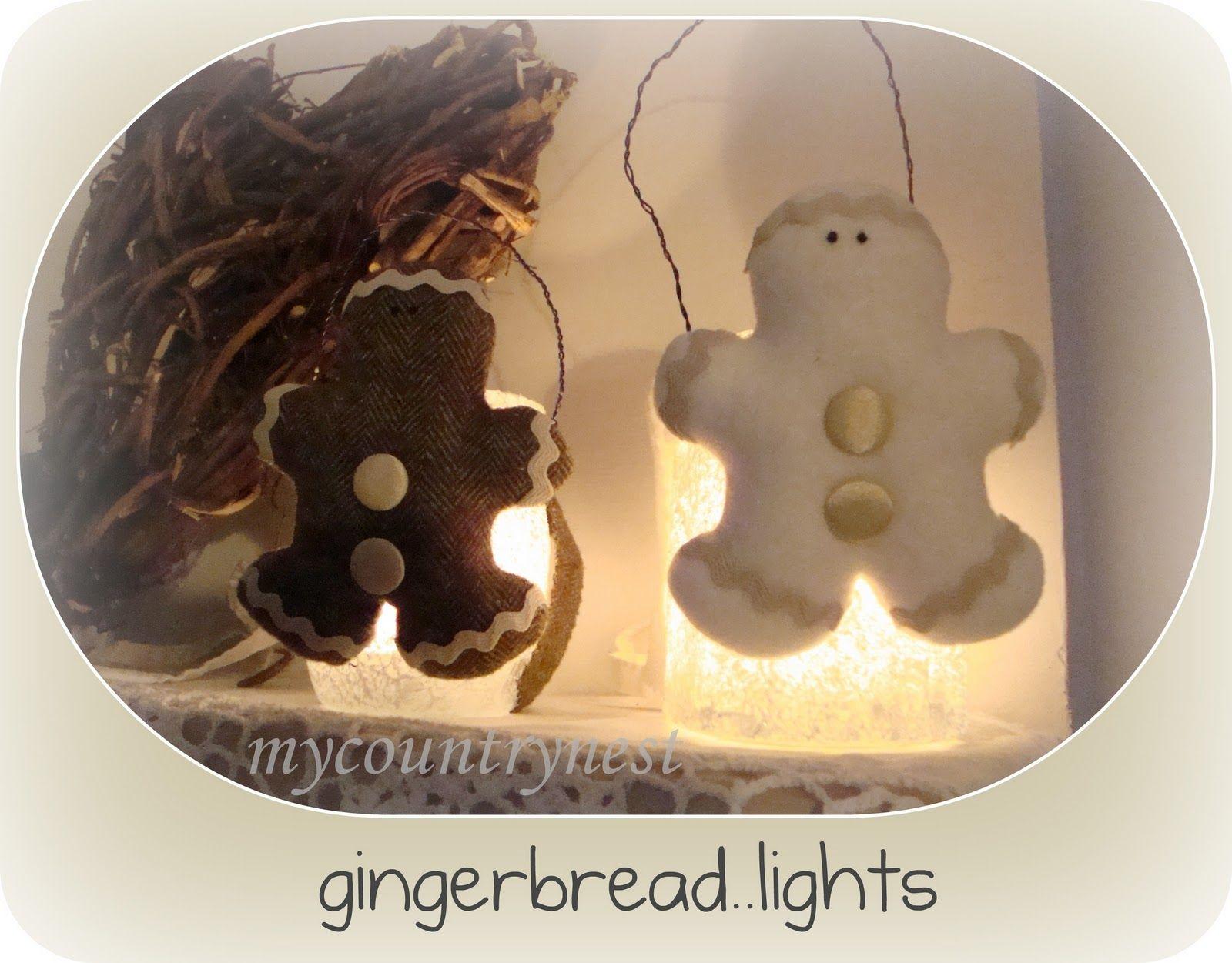 Gingerbread lights