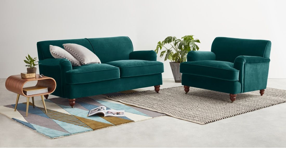 orson 2 seater sofa seafoam blue velvet wonderful chairs 3 rh pinterest com