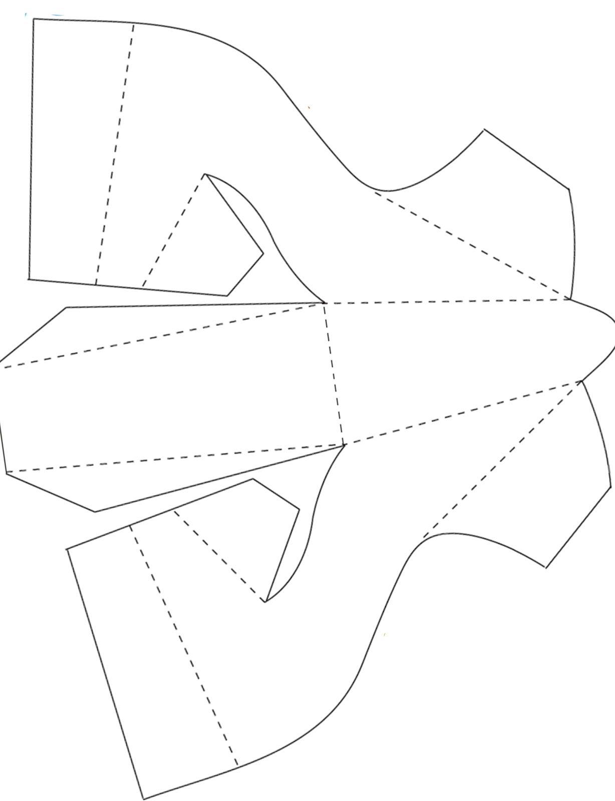 Best Dressed Shoe Paper Shoes Shoe Template Doll Shoe Patterns