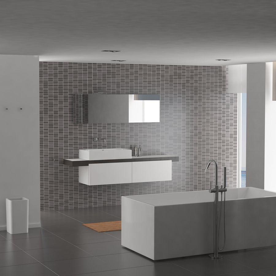 Clou - InBe vrijstaand bad. Dit vrijstaand bad is gemaakt van wit ...