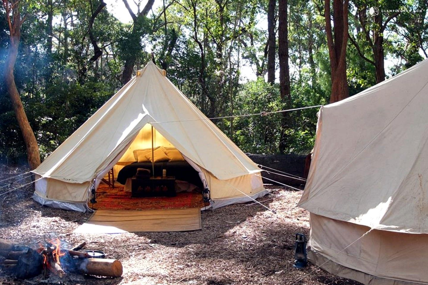 Bell Tent Rentals in NSW This gl&ing company can be found in the region of New : bell tent rentals - memphite.com