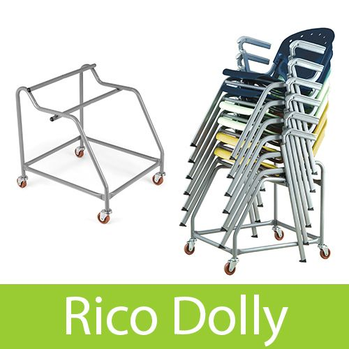 Rico Stacking Chair Dolly Stacking Chairs Swivel Chair Living Room Dolly