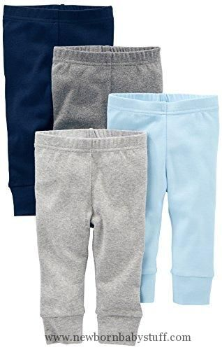 Baby Boy Clothes Simple Joys By Carter S Baby Boys 4 Pack Pant Blue