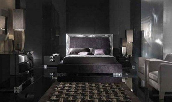 Modern Gothic Bedroom Interior Decorating Ideas Real Estate Home Design Ideas Stijl Thuis Interieur Ontwerpen Interieur