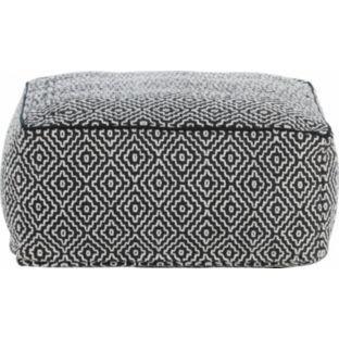 95 Buy Habitat Durrie Black Floor Cushion At Argos Co Uk Your