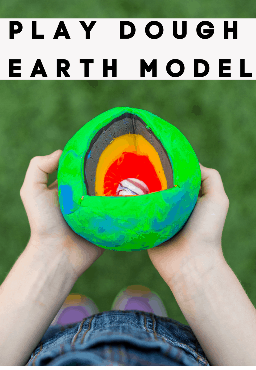 Layers Of The Earth Model