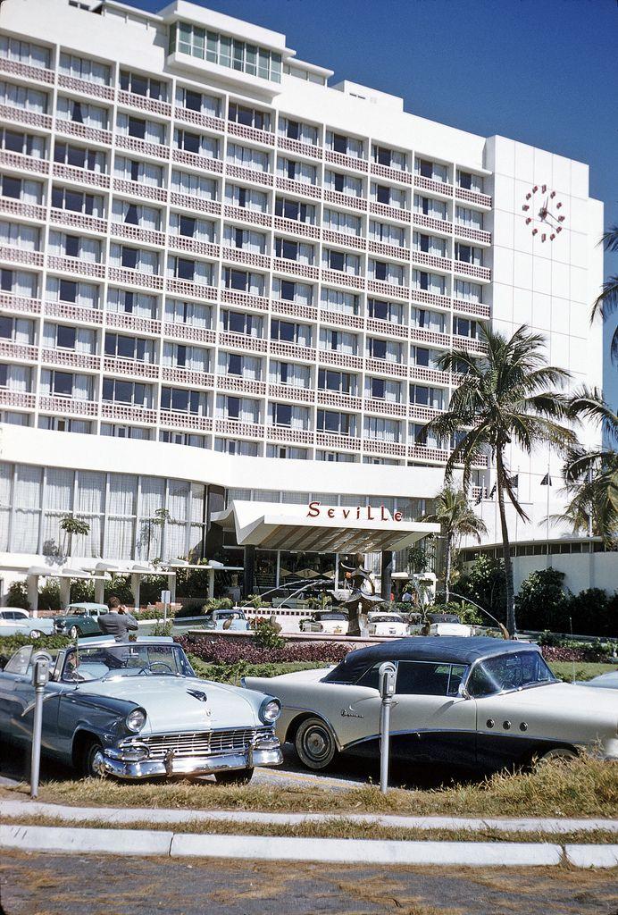 1950 S Florida Seville Hotel In Miami Beach