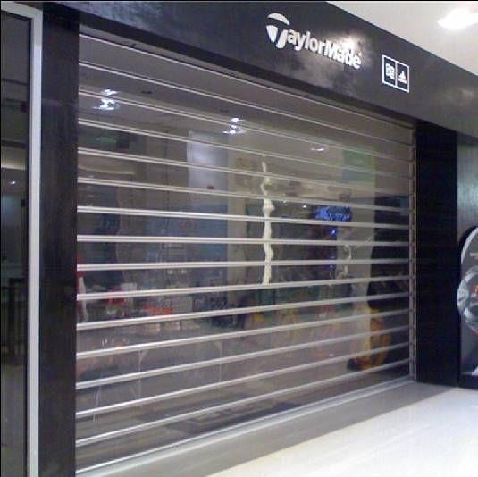 Sell Transparent Roller Shutter Door Roller Shutter