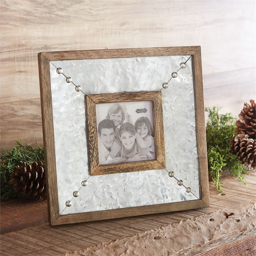 Tin Stud Frame | Buy It Now! Items | Pinterest | Woods