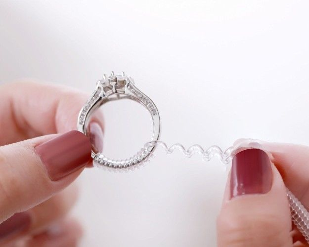 Put Off Having A Ring Resized With This Cheap Size Adjuster Ring Size Adjuster Ring Fit Wedding Rings