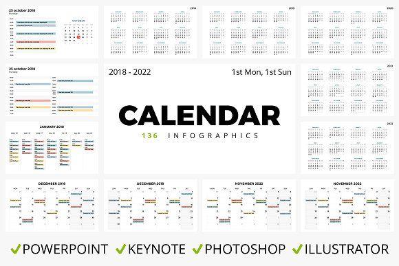 CALENDAR 136 slides 2018 - 2022 by TheSeamuss on @omairsart