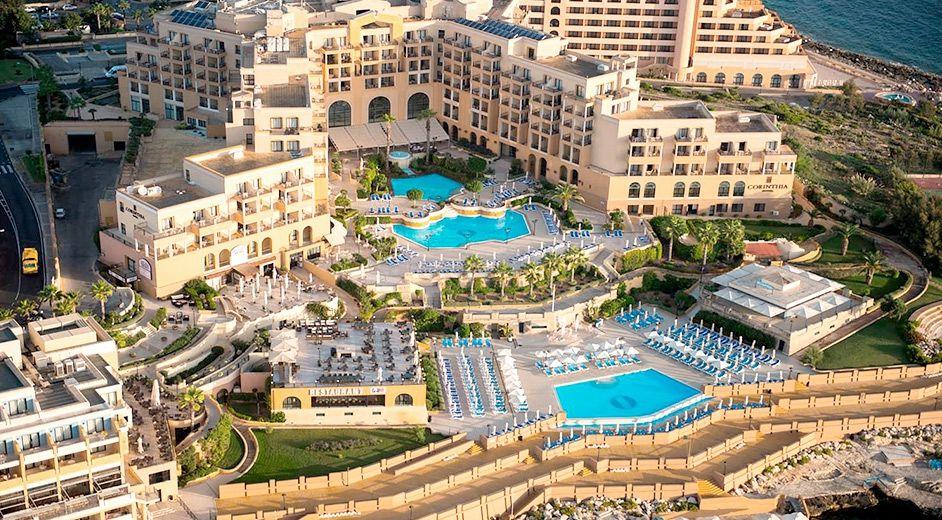 Corinthia Hotel St George S Bay Malta S Finest 5 Star Hotel